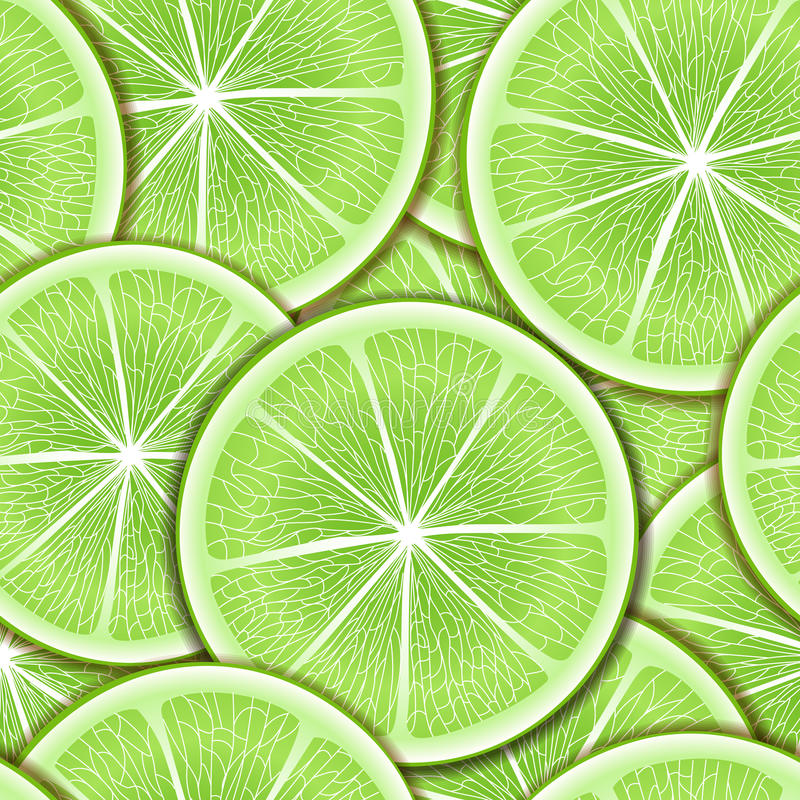 Download Lime seamless background stock vector. Image of round - 22103988