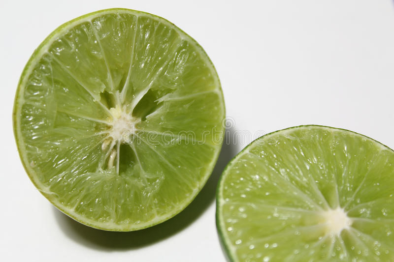 Download Lime split in half stock image. Image of organic, cocktail - 39274509
