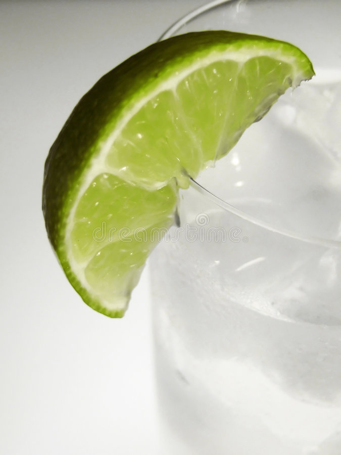 Download Lime wedge in glass stock photo. Image of cool, fruit, iced - 193732