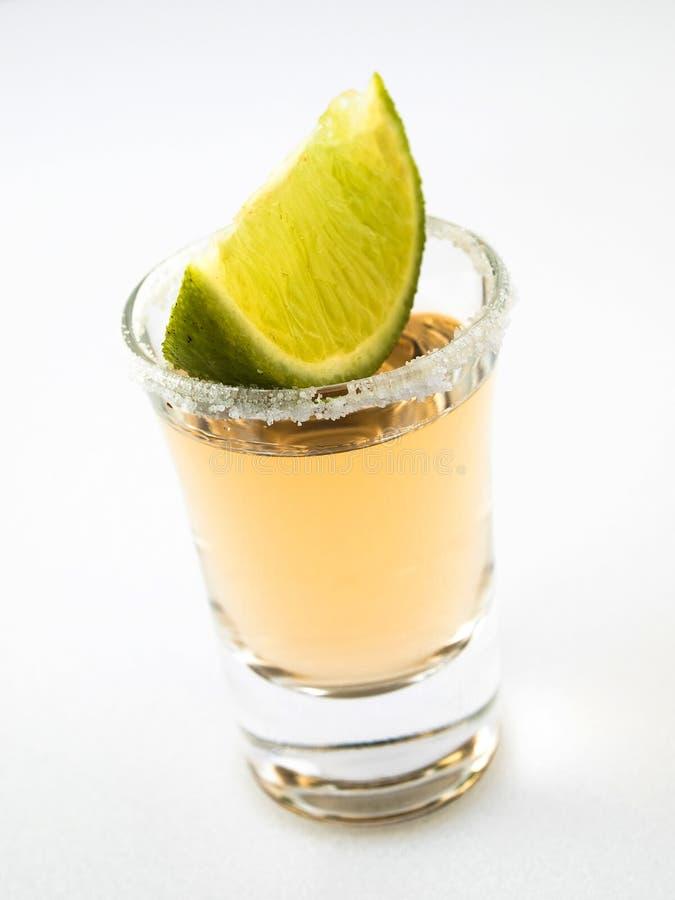 limefrukt sköt tequila royaltyfria bilder