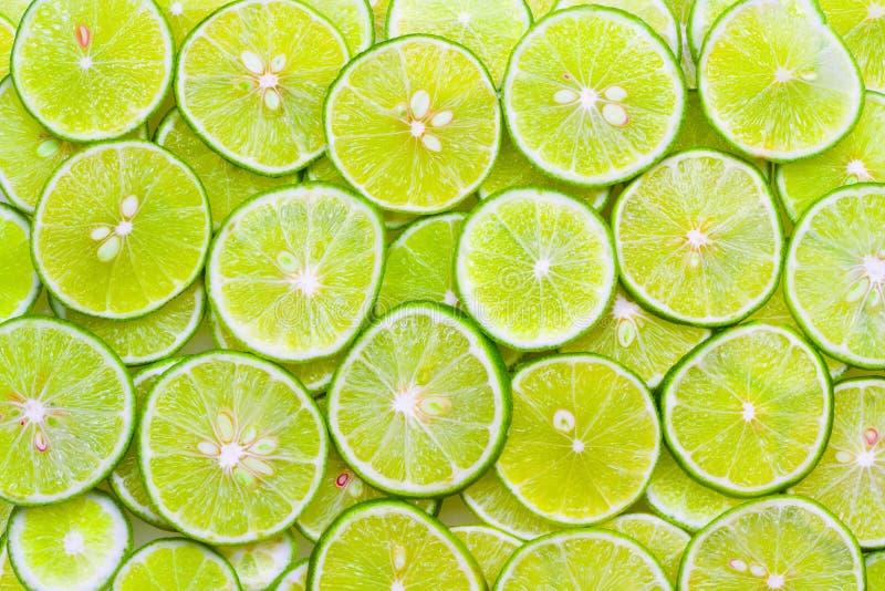 limefruktskivor royaltyfri foto