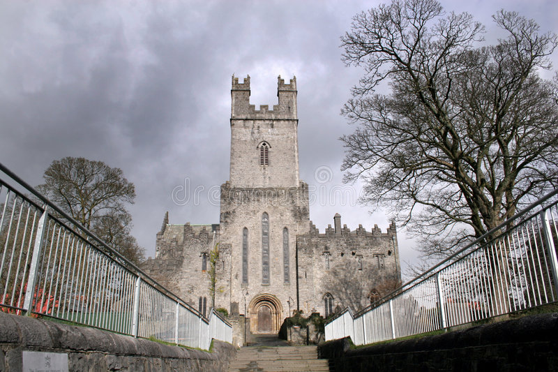 Limerick cathedral. St Mary Cathedral in Limerick in Ireland royalty free stock image
