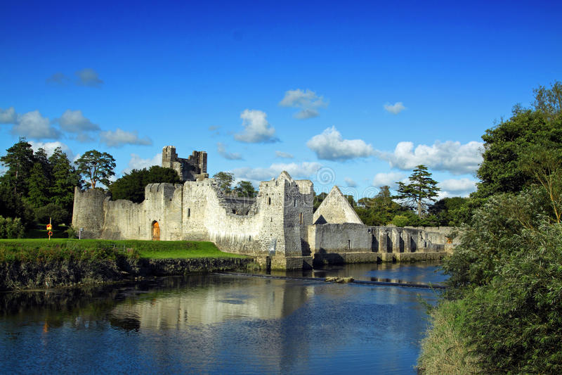 limerick co Ирландии замока adare стоковые изображения