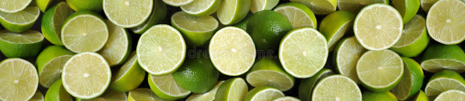 Limes-panorama. Panorama comprised of multiple photos royalty free stock image