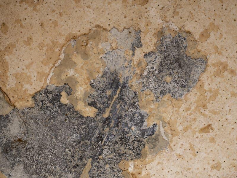 Limescale skala i kokkärldetalj Problem för hårt vatten arkivfoton