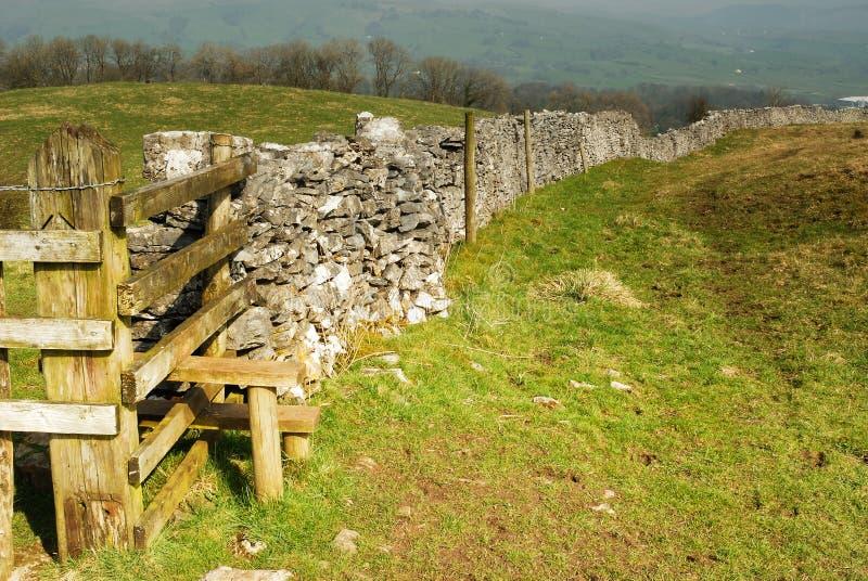 A Limestone Dry Wall