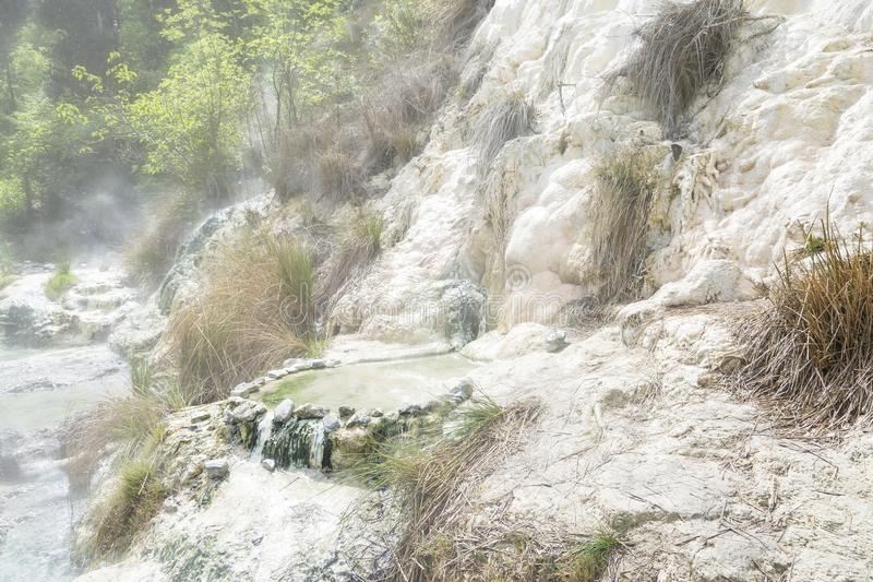 Limestone formation stock image. Image of relaxing, toscana - 110693419