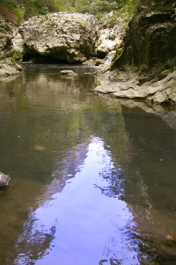 Download Limestone Gorge River In Mountains Royalty Free Stock Photography - Image: 13478897