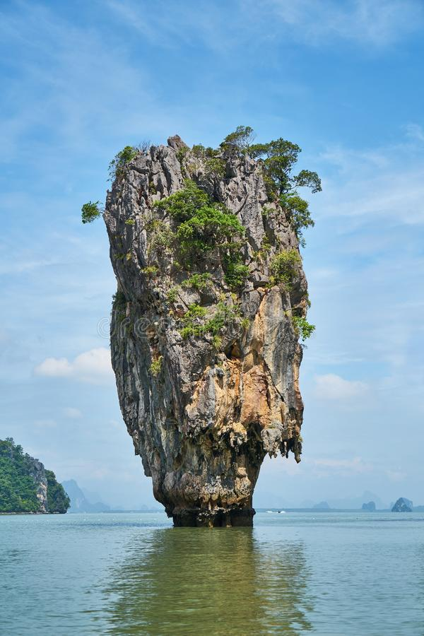 Limestone Karst Formation In Sea Free Public Domain Cc0 Image