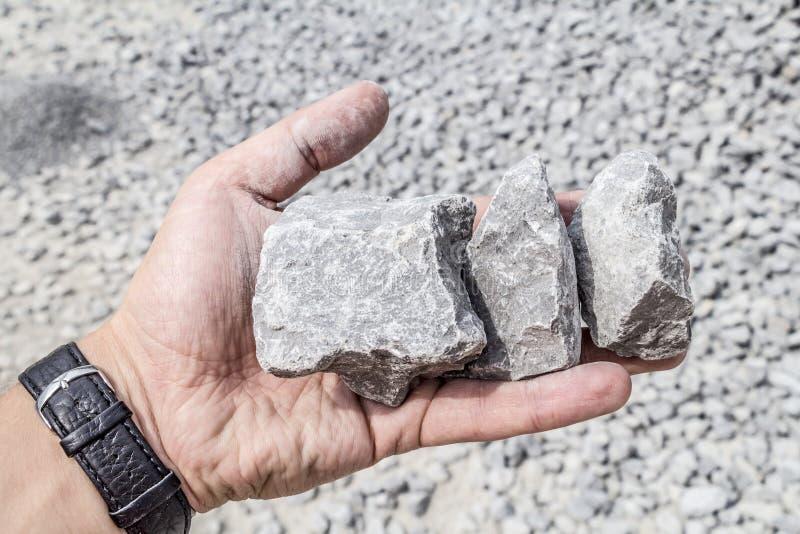 Limestone quarry industry, summer, Ukraine. Limestone quarry industry and manufacturing, summer, Ukraine royalty free stock photography