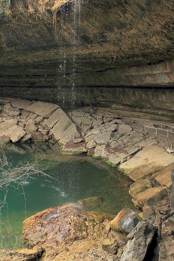 Hamilton Pool Preserve near Austin Texas. stock images