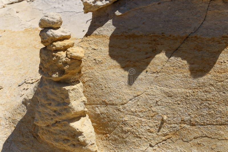 Limestone rock surface stock photography