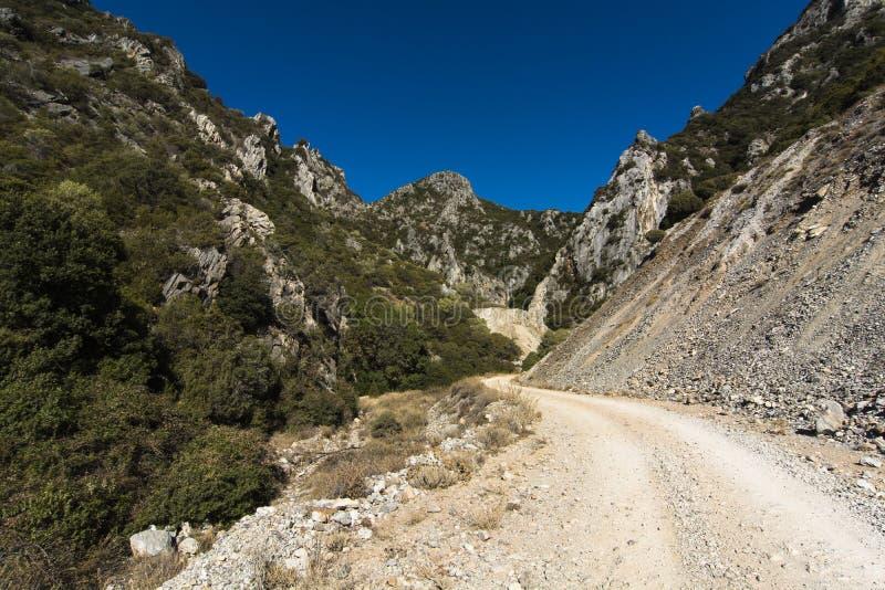 Sardinia.Limestone valley stock photos