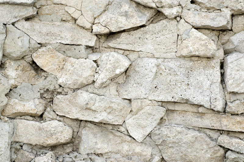 Limestone wall texture royalty free stock photography