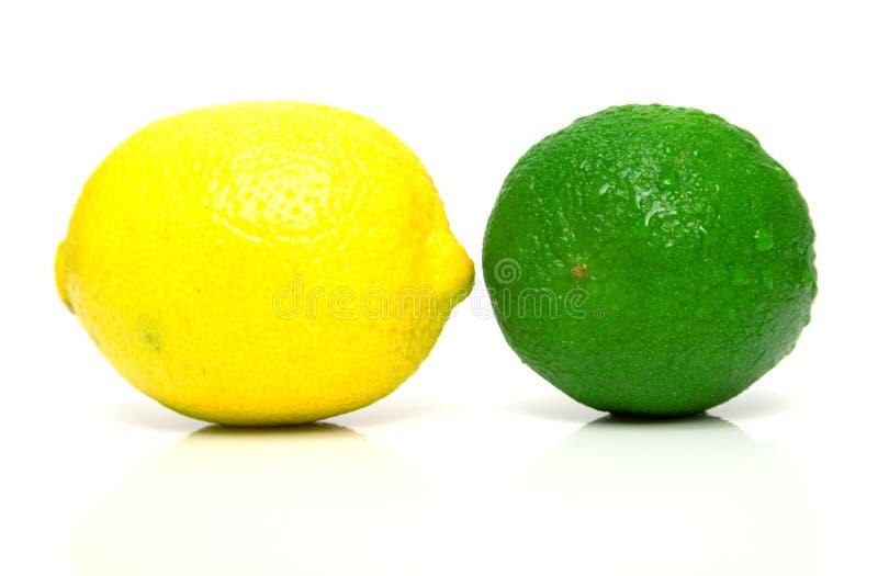 limette de citron photo stock