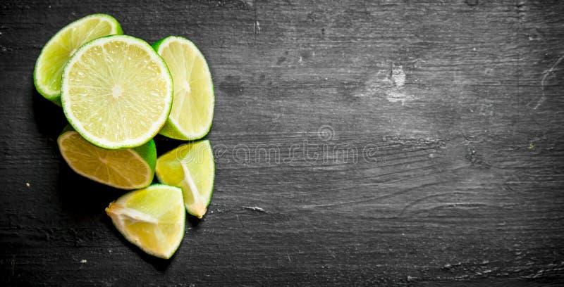 Limettes fraîches image libre de droits
