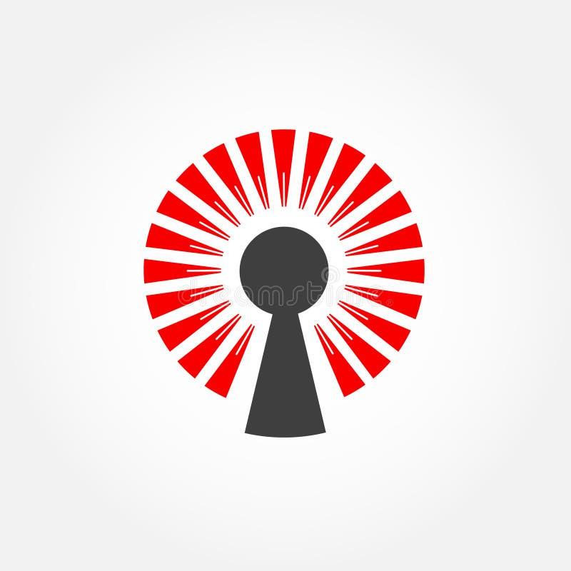 Limitation de vitesse Logo Design illustration libre de droits