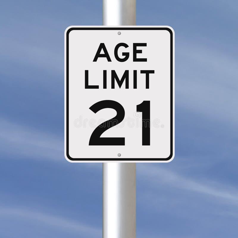 Limite d'âge à 21 images libres de droits