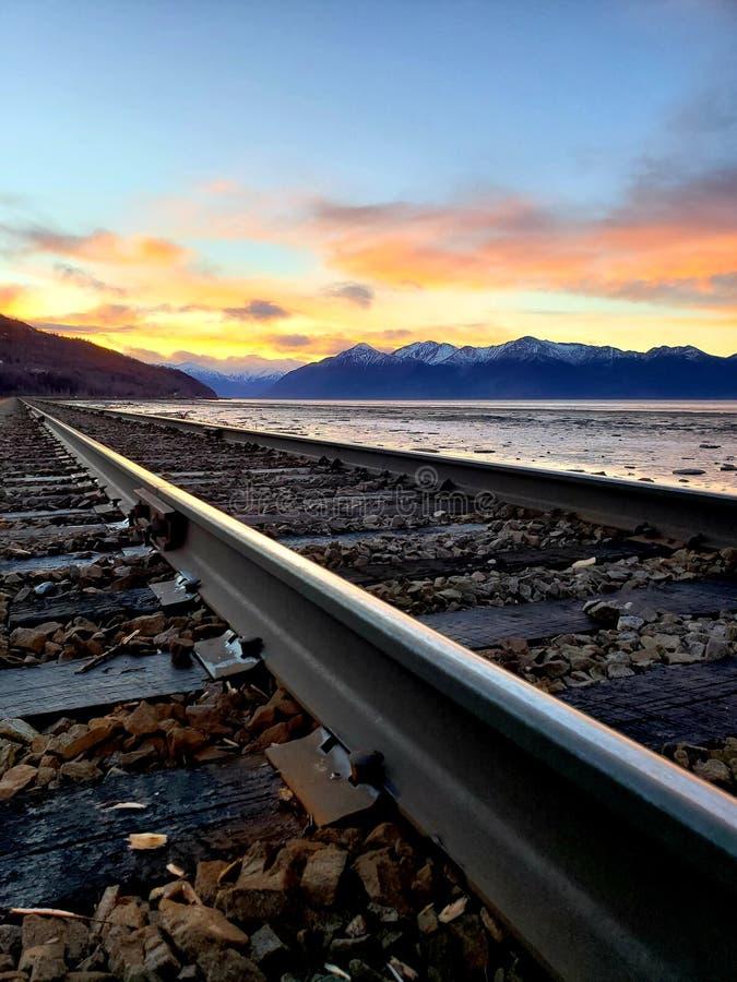 Limite dell'Alaska fotografia stock libera da diritti