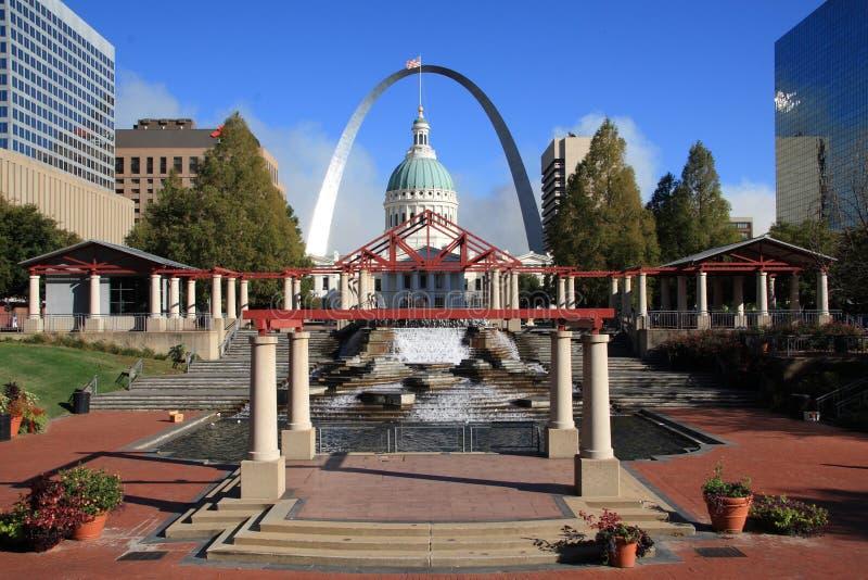 Limite della città di St. Louis, fotografia stock libera da diritti