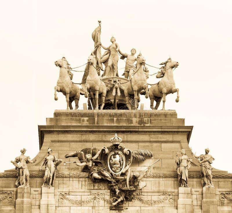 Limite di Bruxelles fotografia stock libera da diritti