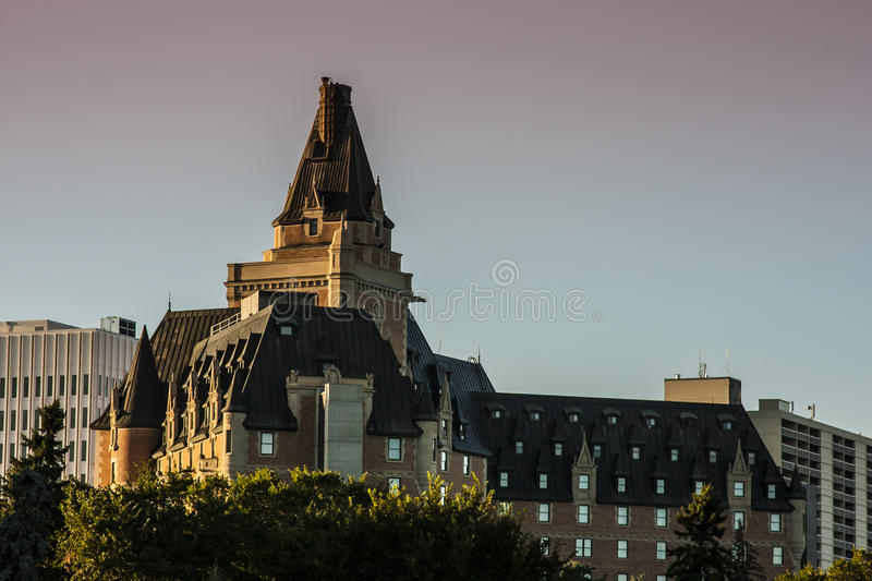 Limite di Saskatoon immagini stock libere da diritti
