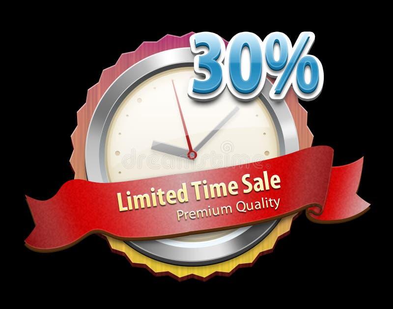 Download Limited offer badge stock illustration. Illustration of aged - 29617628