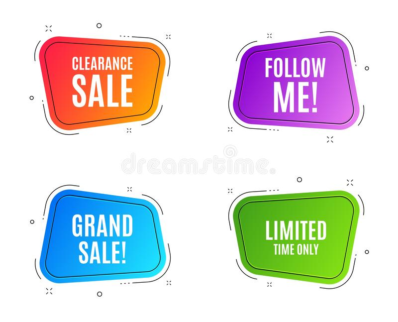 Limited time symbol. Special offer sign. Vector vector illustration