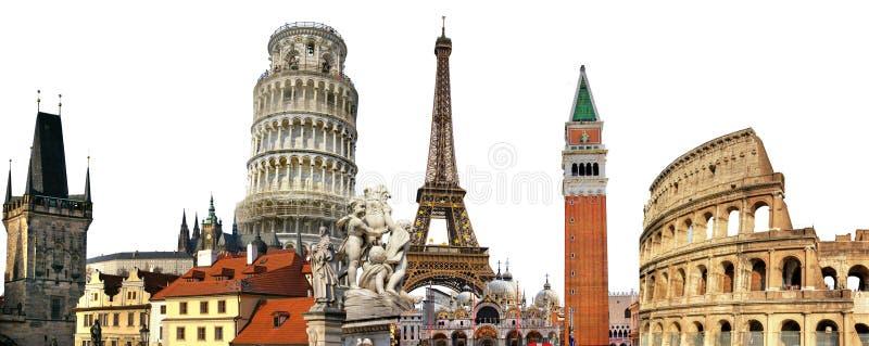 Limiti europei fotografie stock