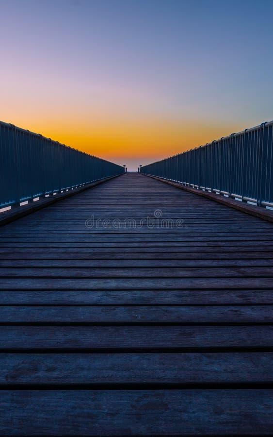 Limni Pier stock photo