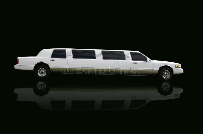 Limo. Usine over black