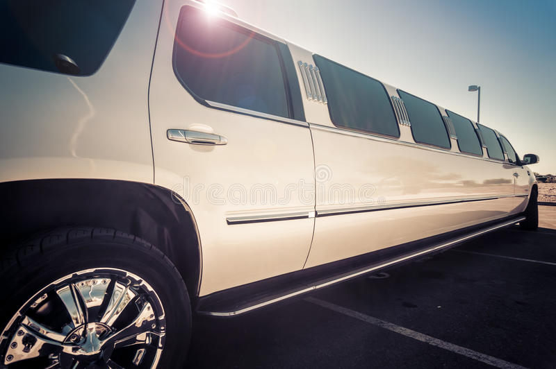 Limo service royalty free stock photography