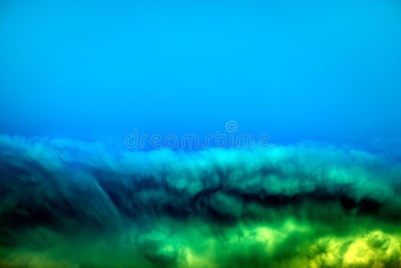 Limo sotto acqua immagine stock
