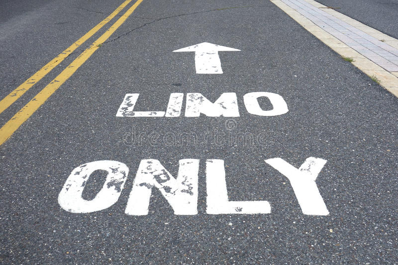 Limo Only stock images