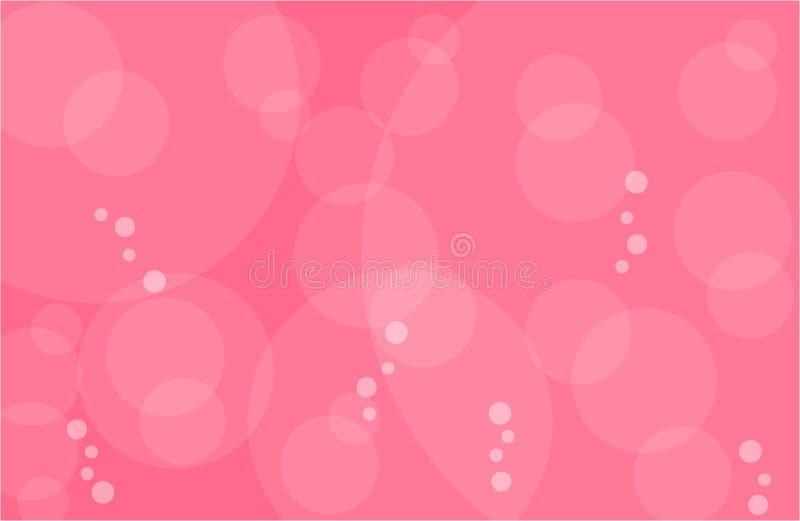 Limonada cor-de-rosa com bolhas imagem de stock royalty free