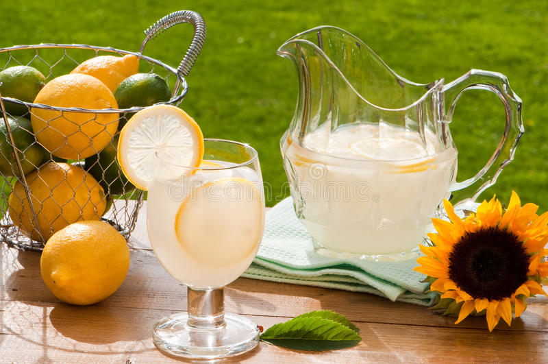 Limonada do verão foto de stock