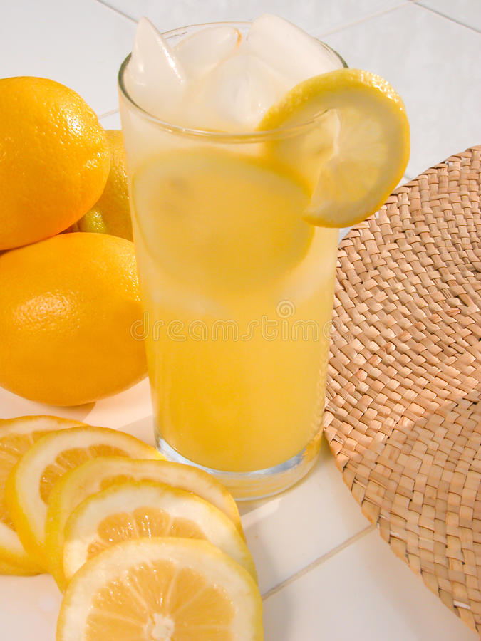 Limonada em um dia de verão quente II fotografia de stock