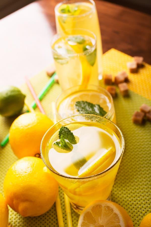 Limonada fresca fotografía de archivo