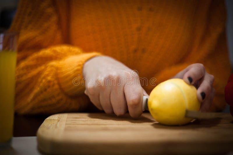 Limonada fresca para o bom dia fotografia de stock royalty free