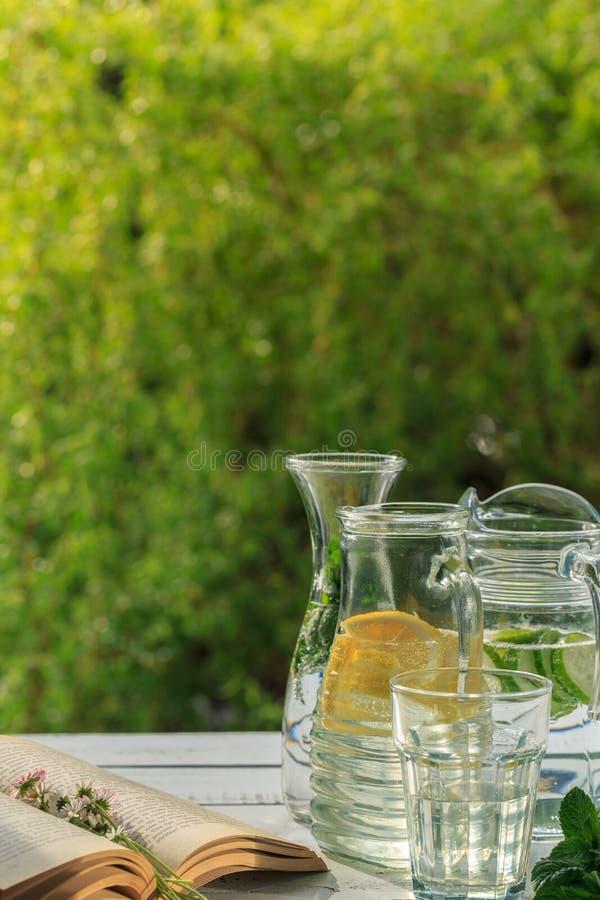 Limonada hecha en casa fresca foto de archivo libre de regalías