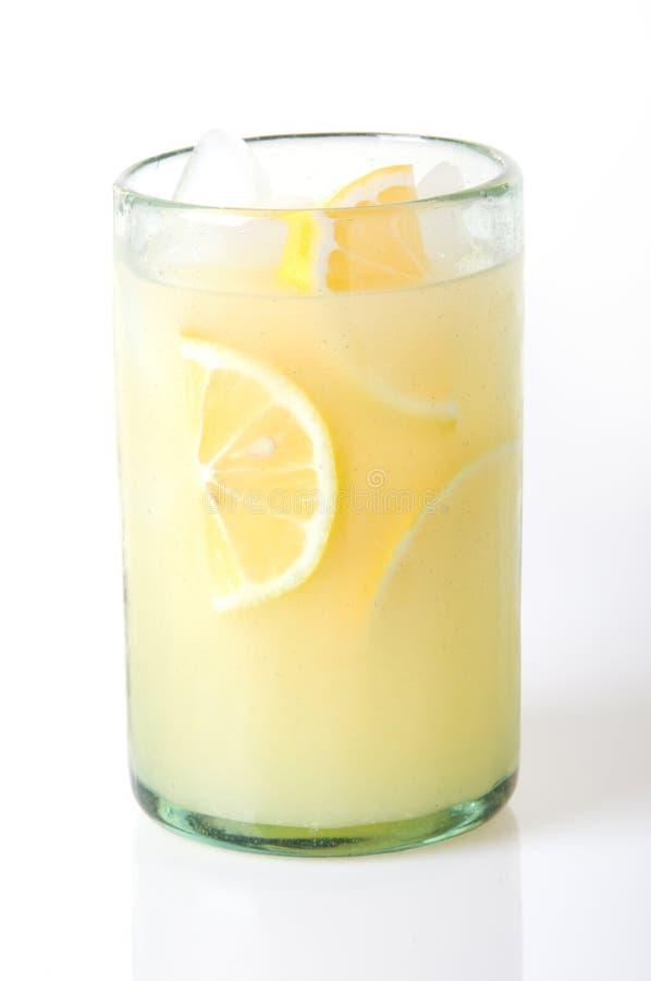 Limonada no branco foto de stock