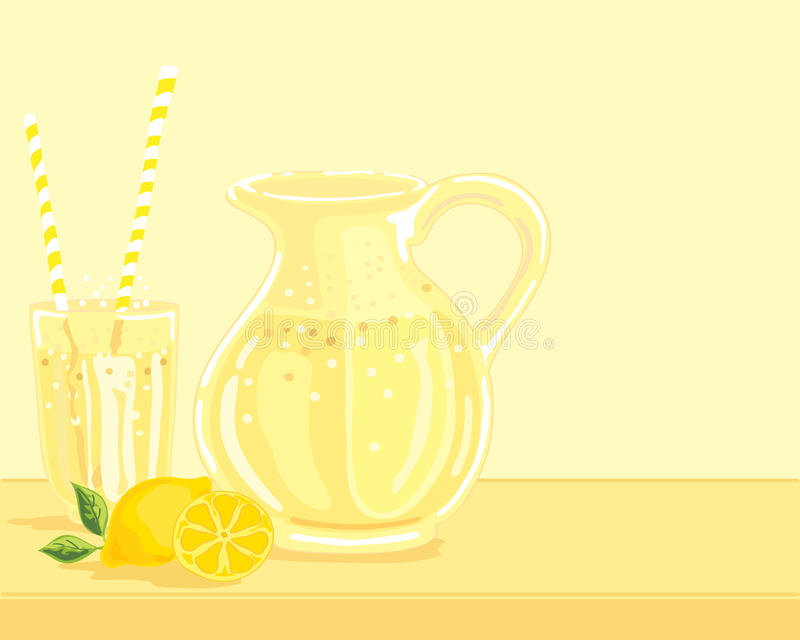 Limonade stock illustratie