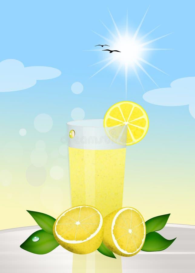 limonade stock illustratie