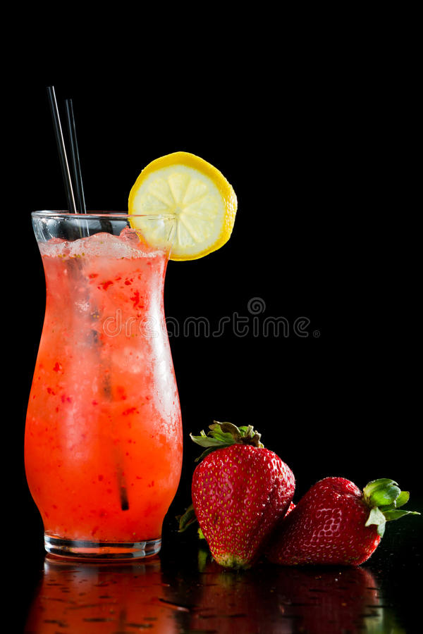 Limonade de fraise images stock