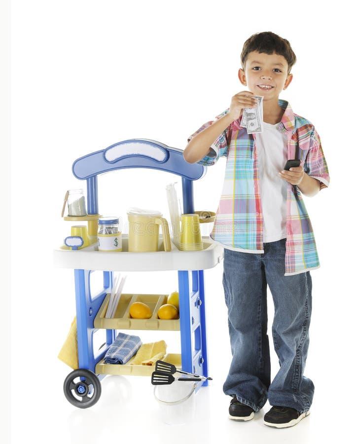 Limonade Enterpreneur stockbild