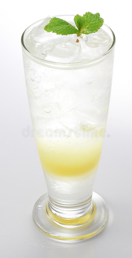 Limonade met Muntblad stock foto's