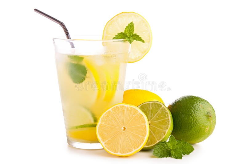 Limonade of mojito stock fotografie