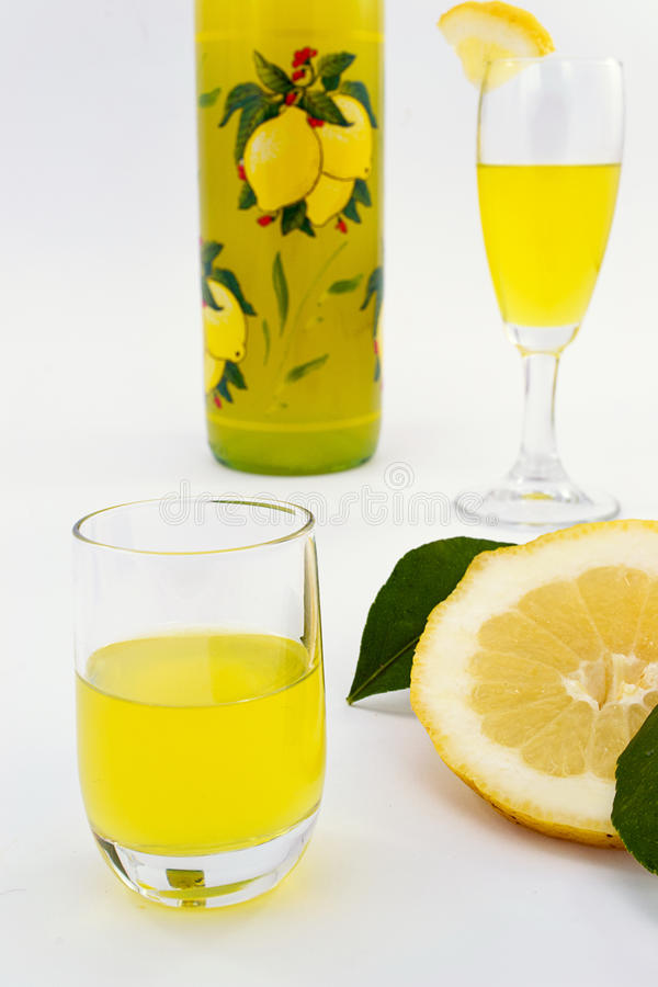 Limoncello stock images