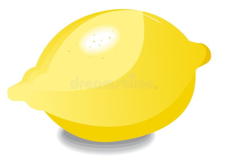 Limone da solo royalty illustrazione gratis