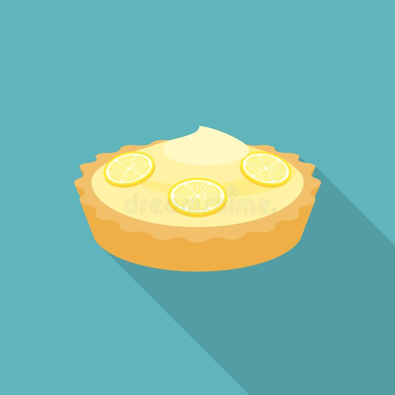 Limone della torta illustrazione di stock